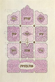 The Ten Plagues from The Moss Haggadah